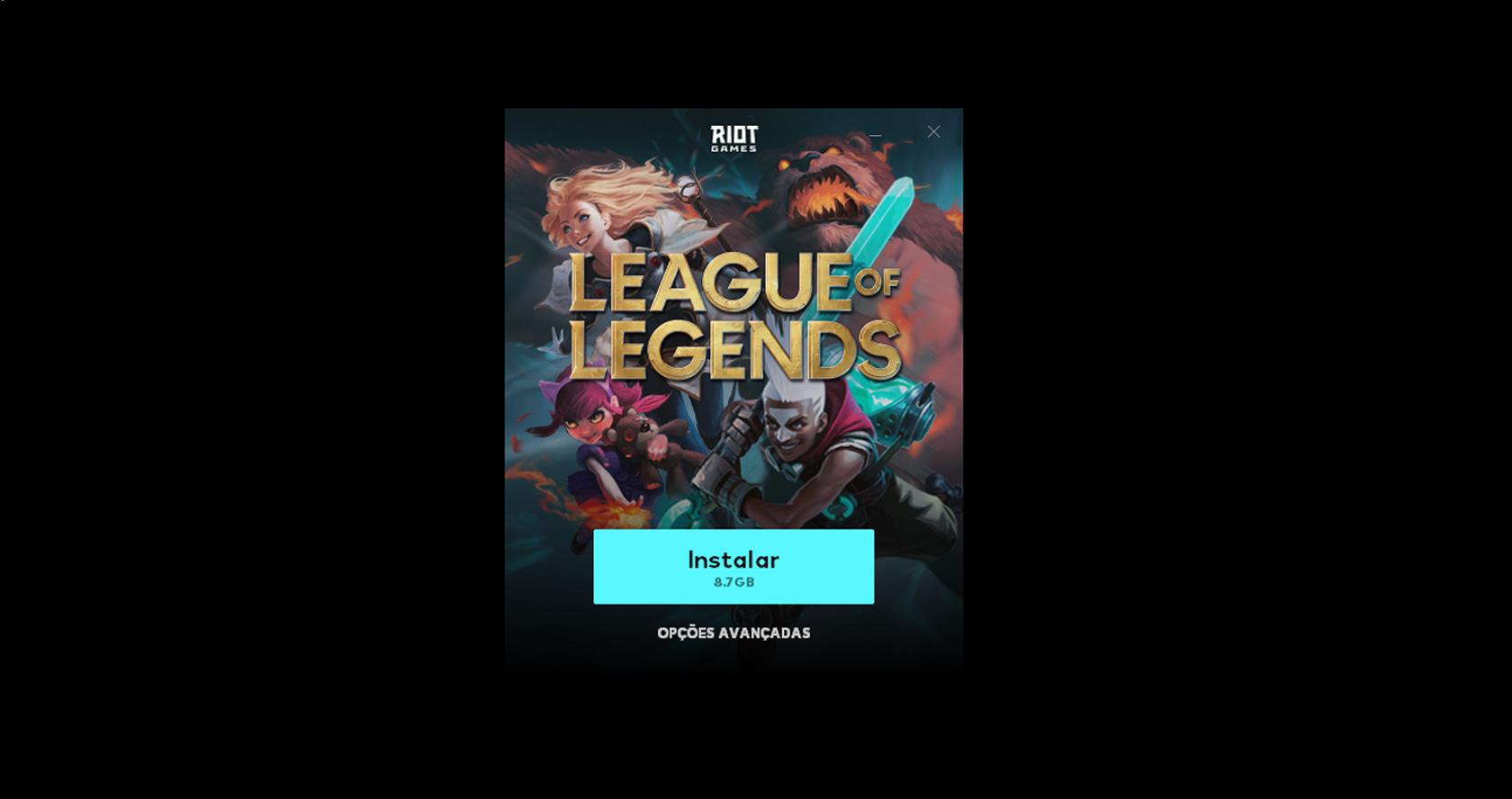 Instalar League of Legends (Imagem: Riot Games/League of Legends)