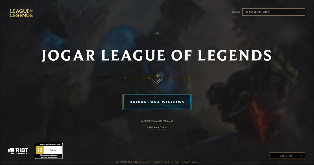 Baixar League of Legends (Imagem: Riot Games/League of Legends)