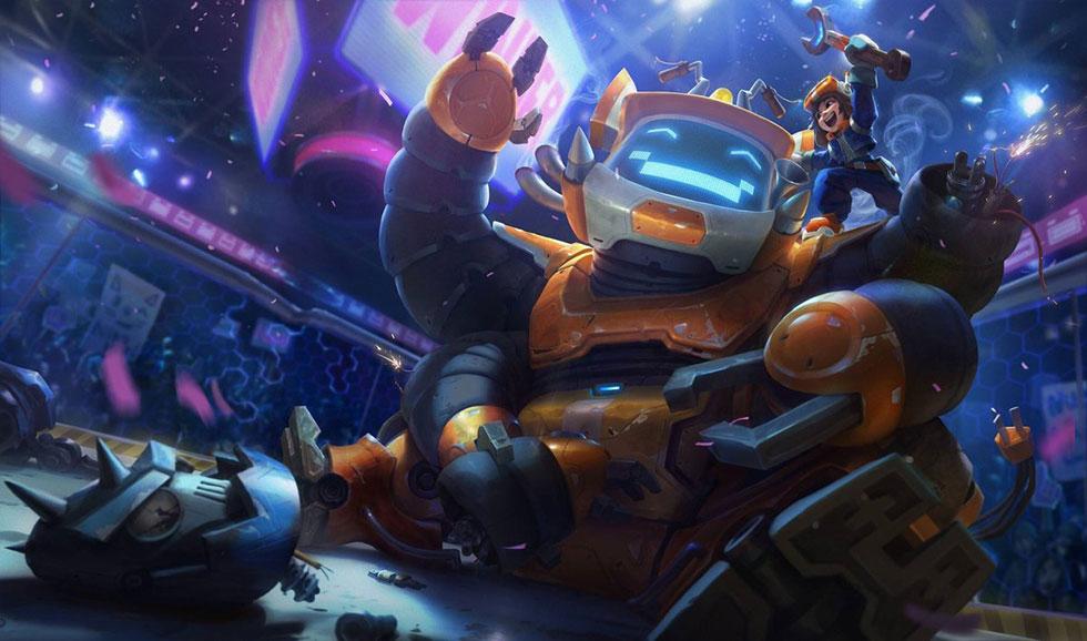 Nunu Robótico (Imagem: Riot Games)