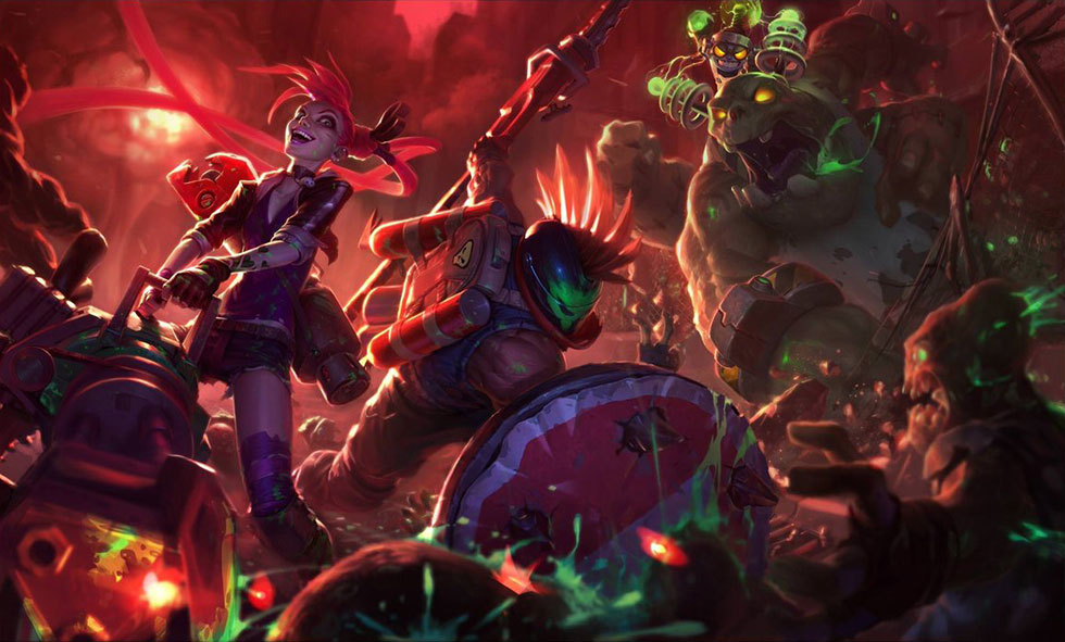 Nunu Zombie (Imagem: Riot Games)