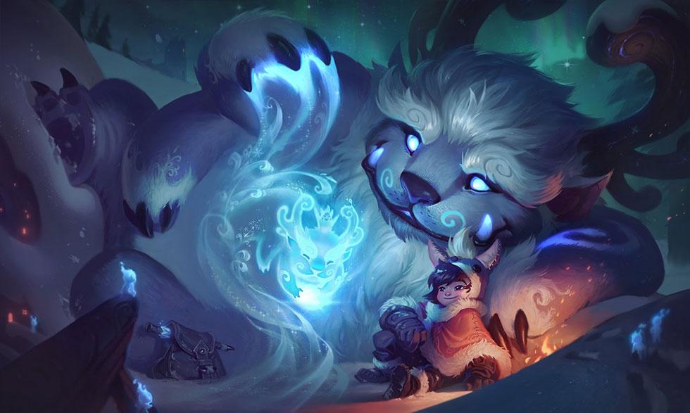 Nunu original (Imagem: Riot Games)