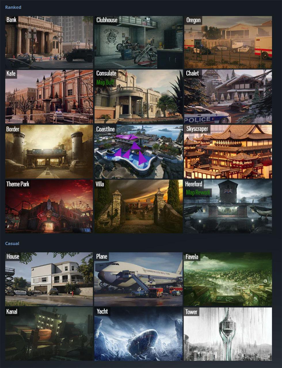 Nova rotação de mapas, trará de volta a Favela (Imagem: Ubisoft/Reprodução)