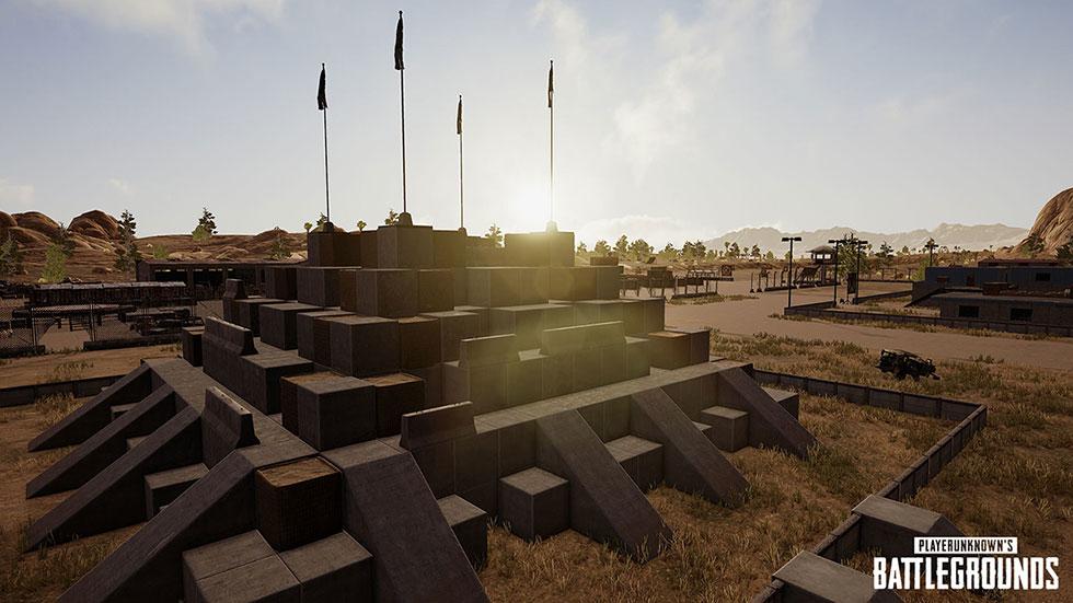 Área para treinar a escalada (Imagem: PUBG Corp/Reprodução)