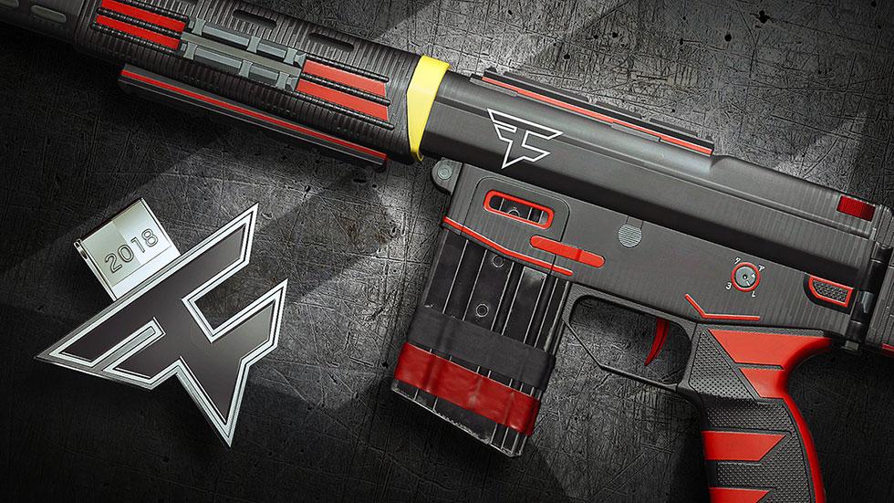 Skin da FaZe Clan para a Type-89 da Hibana (Imagem: Ubisoft/Reprodução)