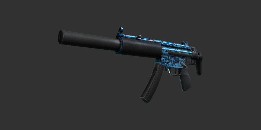 MP5 SD - Coprocessador (Imagem: csgostash)