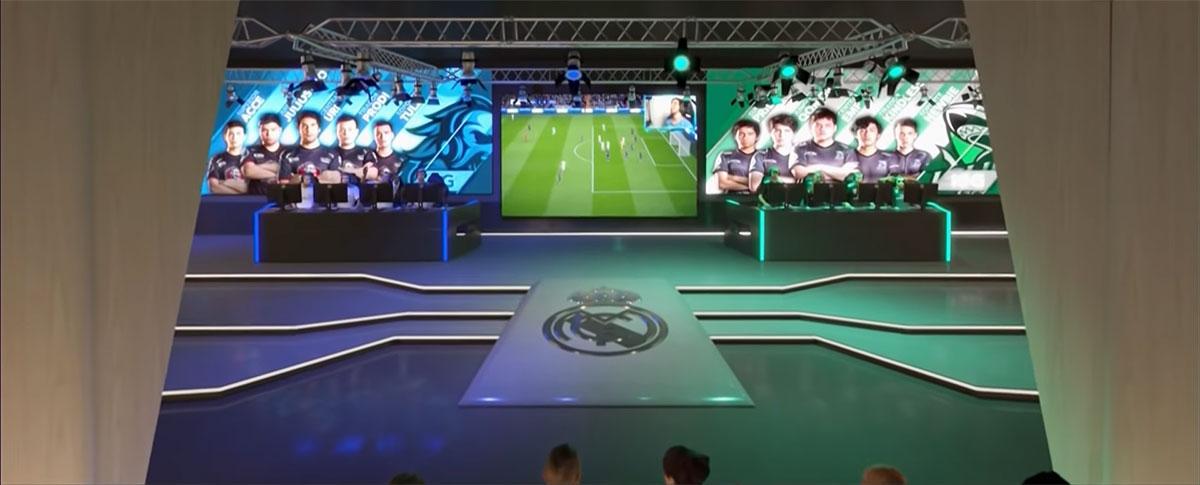 Arena ficará dentro do estádio (Foto: YouTube/Real Madrid)