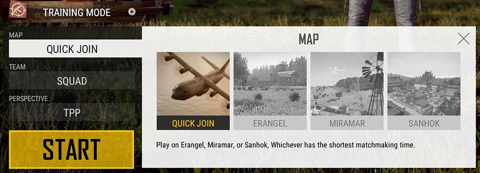 Seleção de mapa voltará a ser livre (Imagem: PUBG Corp/Reprodução)