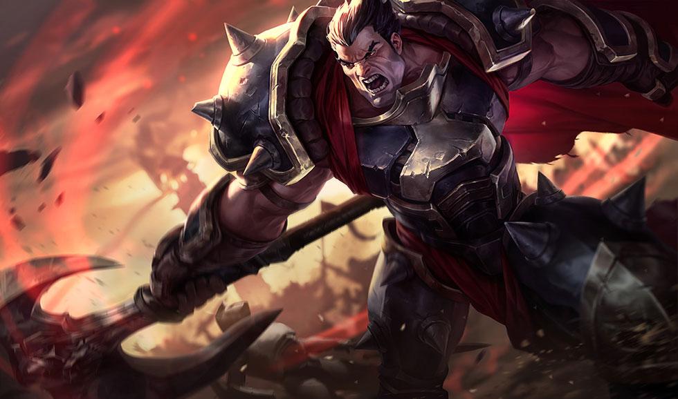 Darius (Imagem: Riot Games/Reprodução)