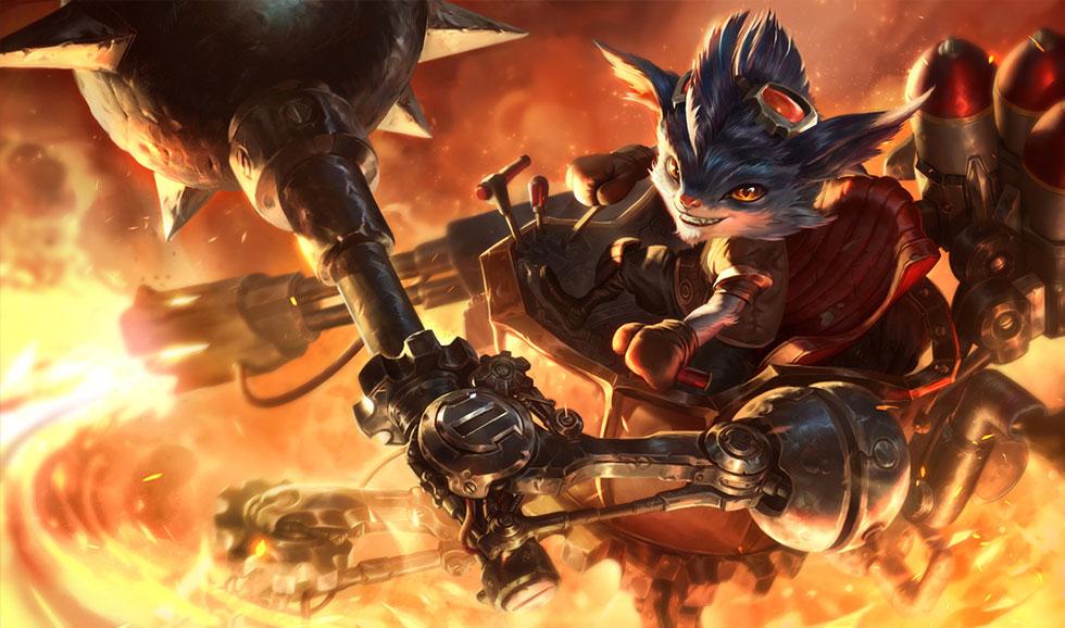 Rumble (Imagem: Riot Games/Reprodução)