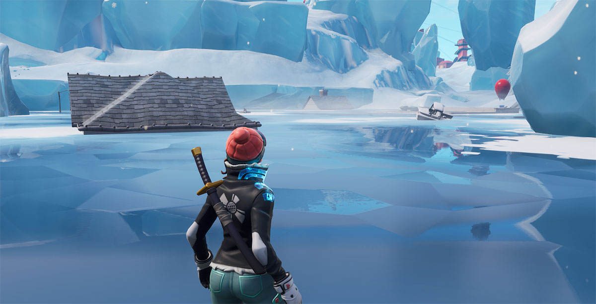 Lago Congelado Fortnite