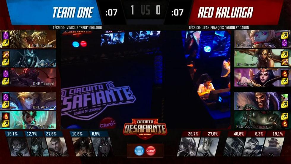 Picks e bans do jogo 2 (Imagem: LoLeSportsBR)