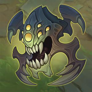 Emote da Maldíbula (Imagem: Riot Games/Reprodução)