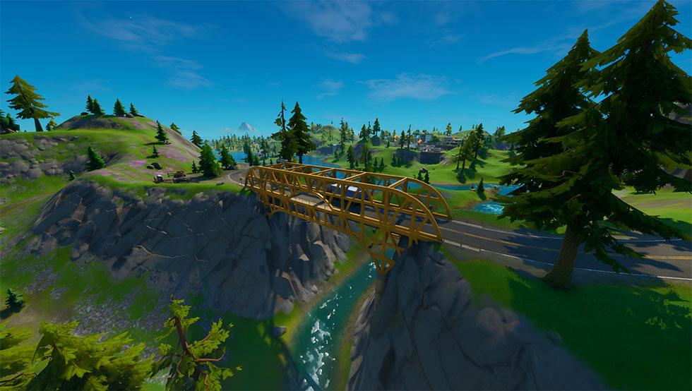 Ponte de Aço Amarela é a mas isolada de todas