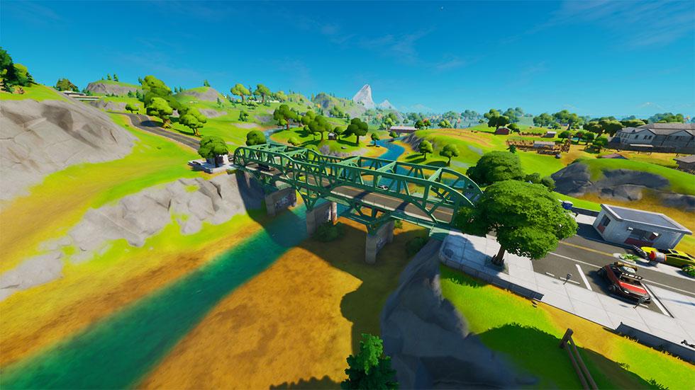 Ponte de Aço Verde está na coordenada G4