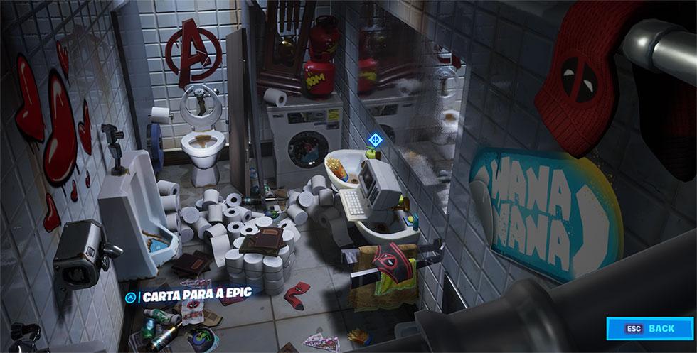 Carta do Deadpool no Fortnite (Imagem: Epic Games/Reprodução)
