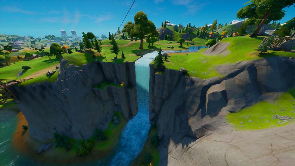 Desfiladeira Deslumbrante está no quadrante E5 do mapa