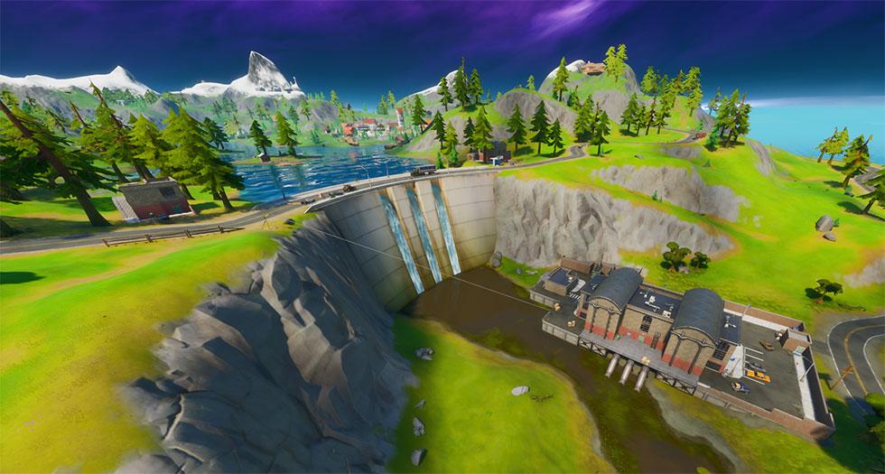 Hidrelétrica é um dos pontos denominados mais famosos do jogo