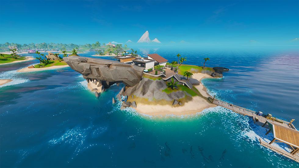 O Tubarão é a casa da Skye