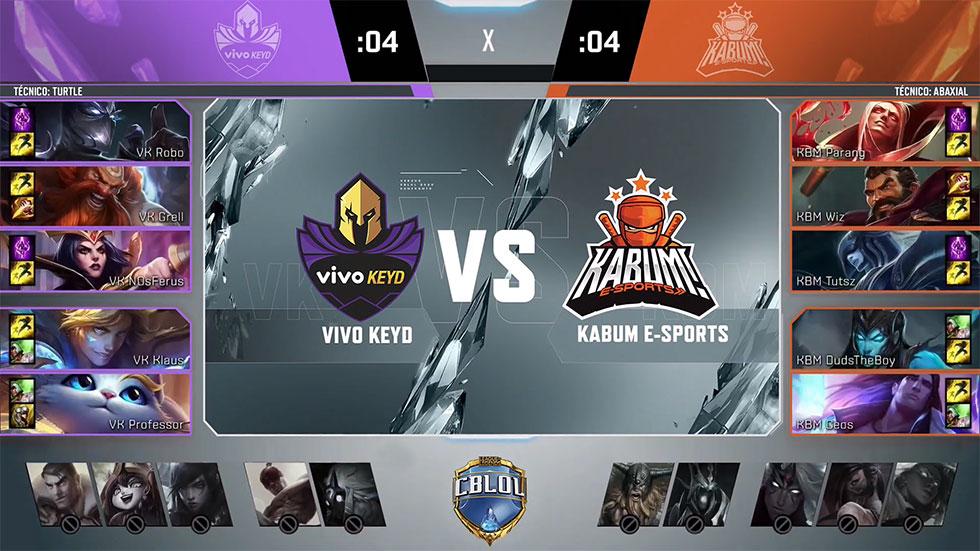 Picks e bans do jogo 2 (Imagem: LoLeSportsBR/Reprodução)