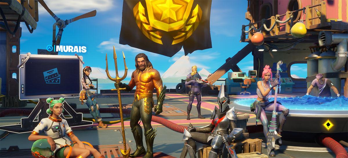Mural pode ser acessado na tela inicial do jogo