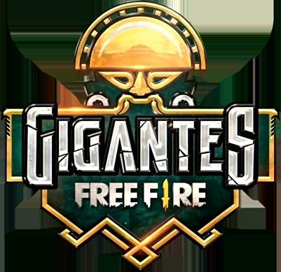 Gigantes Free Fire – quedas e resultados logo