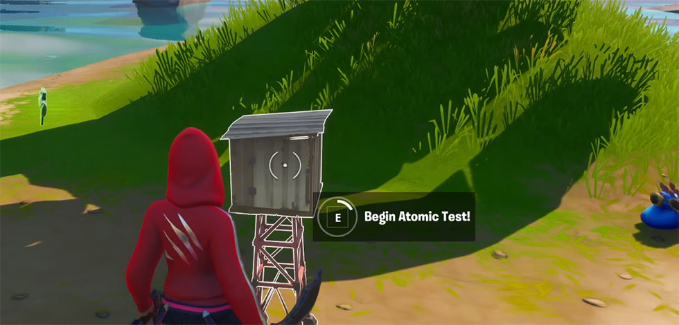 Após pegar o Contêiner, você deve levá-lo até o local de teste (Ao completar a missão, você poderá assistir a uma bela explosão (Knight Breaker/Youtube)