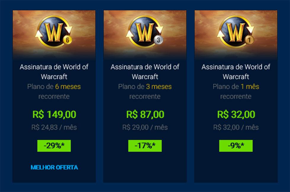 Novos preços estão mais baratos (Imagem: Blizzard/Reprodução)