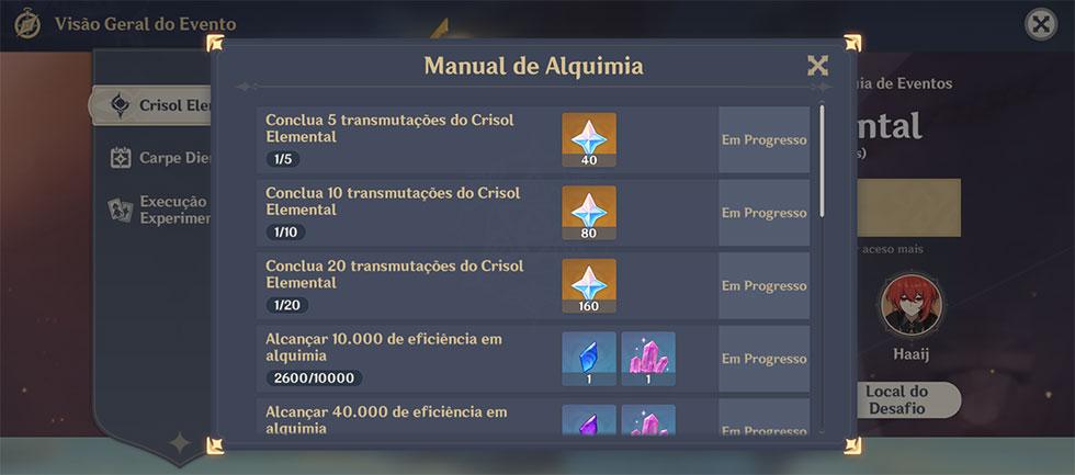 Jogadores podem conseguir diversas recompensas através do evento (Imagem: Reprodução)