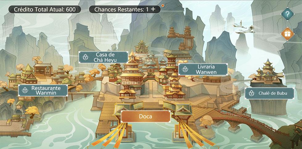 Evento acontece em uma página da Web que pode ser aberta no game (Imagem: miHoYo/Reprodução)