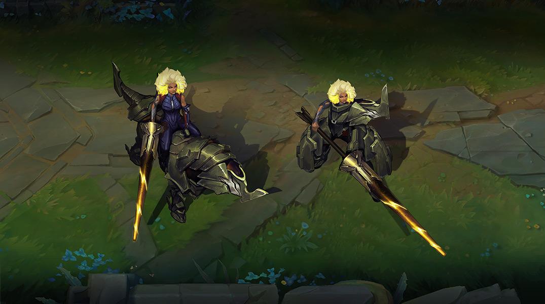 Posturas Rell (Imagem: Riot Games)