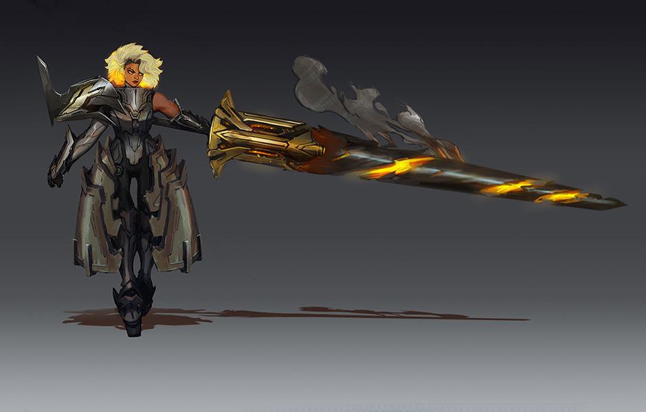 A nova suporte tanque de Noxus (Imagem: Riot Games/Reprodução)