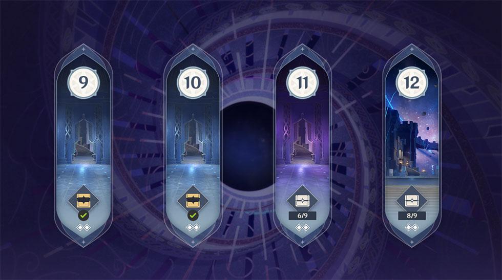 Andares 9, 10, 11 e 12 estão com novos inimigos (Imagem: Reprodução)