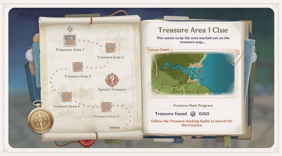 Evento Caça ao Tesouro será lançado amanhã (Imagem: miHoYo/Reprodução)