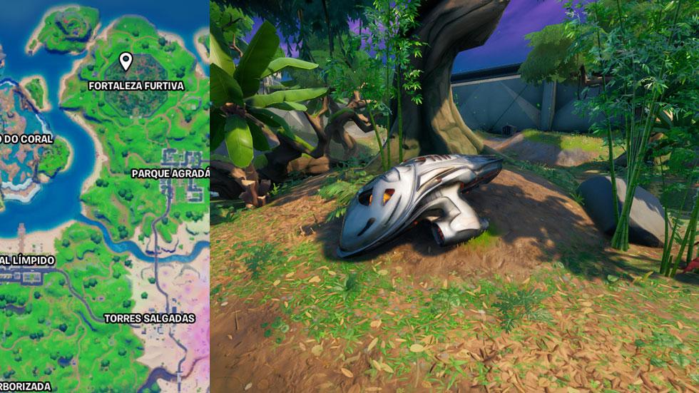 Módulo está na Fortaleza Furtiva (Imagem: Reprodução)