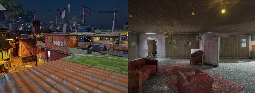 """Favela será mais """"fechada"""" (Imagem: Ubisoft/Reprodução)"""