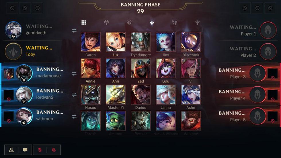 Sistema de banimentos chegará ao jogo no dia 29 de julho (Imagem: Riot Games)